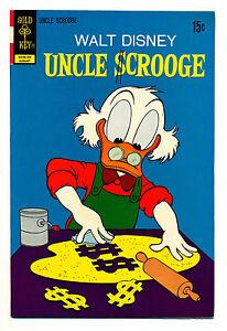 Walt Disney's Uncle Scrooge #100 (Gold Key) NM9.0