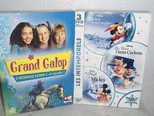 COFFRETS DE 3 DVD LES INTEMPORELS DE DYSNEY + 1 DVD  GRAND GALOP
