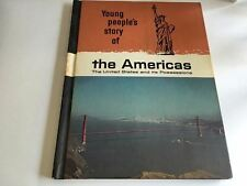 Vintage 1966 Young People's Story Of Our Heritage Americas Hardcover