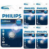 5 x Philips CR1220 3V Lithium Button Battery Coin Cell DL1220 - EXPIRY 2020