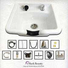 Extra Wide Shampoo Bowl ABS Plastic Shampoo Sink Salon Equipment TLC-W22 KSGT