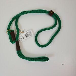 "1/2"" x 6' Mendota British Style Lead dog Leash & collar in One"