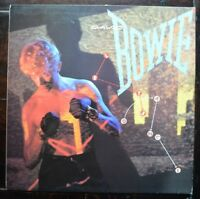 "DAVID BOWIE LET'S DANCE 1983 AML 3029 12"" LP VINYL EARLY PRESSING EX+"