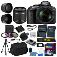 Nikon D5300 Digital SLR Camera 3 lens 18-55mm VR +16GB +More Great Value Kit!