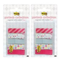 125 Flags Clearnote Semi-Transparent Self-Stick Notes