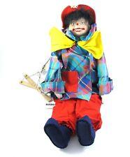 Interia Marionette Clown 55 cm neuwertig