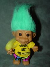 "Troll Doll 4 1/2"" Russ World's Best Babysitter New Out Stock"