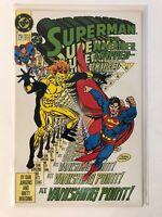 Superman & Waverider  #73 Nov 1992 Doomsday Appearance DC Comics