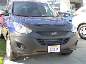 Colgan Front End Mask Bra 2pc. Fits Hyundai Tucson 2010-2015 Without License pl