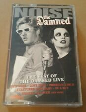 THE DAMNED - NOISE - THE BEST OF THE DAMNED LIVE  (Emporio, 1995) CASSETTE TAPE