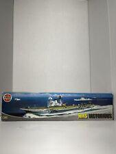 AIRFIX HMS VICTORIOUS 1/600 Rare VINTAGE UNASSEMBLED