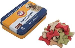 Arm & Hammer Dog Chew Mints Dental Advanced Care Treat Fresh Breath- Beef USA