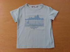 2 ANS FILLE T-shirt bleu mc OKAIDI tbe