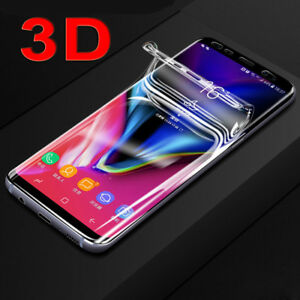 For Samsung Galaxy S8+ S9 Note8 A9 Screen Protector Curved Cover Protective Film