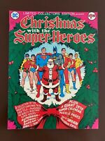 Christmas with the Super-Heroes - DC C-34 Treasury - VF+ (8.5)  Off-White Pages