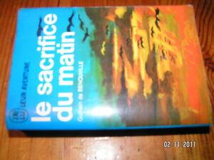 * J'ai lu bleu A162 Le sacrifice du matin G.Benouville