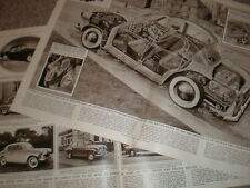 Photo article London Earl's Court motor Show1956