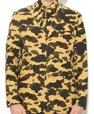 Mr Bathing Ape / Bape  - 1st Camo Seersucker  - Green - Blazer / Jacket sz. XL