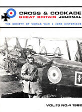 CROSS & COCKADE Great Britain Journal Vol 13 No 4 1982 The Dornier CsI Sea Plane