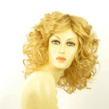 Perruque femme mi-longue blond clair doré JAMELIA LG26