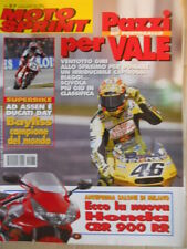 Motosprint 37 2001 Pazzi per Valentino Rossi - Ecco la nuova Honda CBR 900 RR