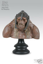 lord of the rings sideshow / weta Siege Tower - Troll Bust NEW IN BOX