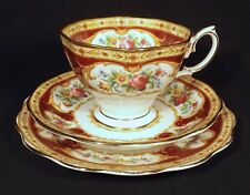 VINTAGE C.1940'S ROYAL ALBERT TRIO LADY HAMILTON TOP ALMOST UNUSED CONDITION.