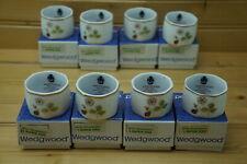 Wedgwood Wild Strawberry (8) Napkin Rings, In BOX