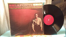 Harry Belafonte LP Belafonte Returns to Carnegie Hall RCA South African Pressing