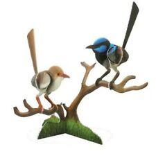 3D Pop Out Construction Postcard Puzzle Blue Wren Bird Australian Made Souvenir