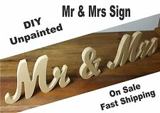"Mr & Mrs Sign 7"" Mr and Mrs Sign wedding sign"
