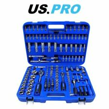 "US PRO 172 Piece Metric 1/4 - 3/8 - 1/2"" Drive Superlock Socket Set 2082"