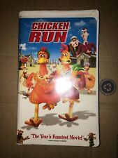 Vhs Chicken Run 2000 Clamshell Blockbuster Video Tested