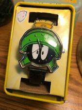 LOONEY TUNES MARVIN THE MARTIAN Wrist Watch + Collectible Tin Warner Bros WB NEW