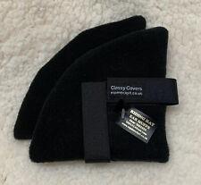 Black Fleece Riding Hat Ear Warmers Pads Muffs Ideal Gift Keep Warm Hacking