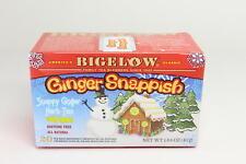 4 PACK Bigelow Tea Ginger Snappish, 20 tea bags, 1.64 oz 10/21+  U4B