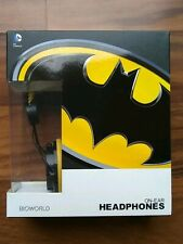 Batman On Ear Over The Ear Headphones DC Comics New