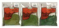 Javis Course Grass Scatter Light Mid & Dark Green  Wargames Dioramas Railways