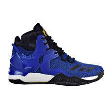 Adidas D Rose 7 Men's Shoes Blue Solid-Black-Metallic Gold bb8290