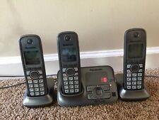 Panasonic KX-TG4131 Home Home Phone Answering Machine W/ 3 Handsets.   #A39