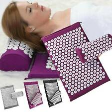 Massage Mattress Mat Yoga Shakti Sit Lying Mat Relieve Pain Acupressure Cushion