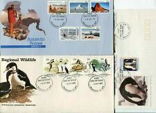 Australian First Day Cover. A.A.T. x5 diff decimal covers.cv $48(2 scans)