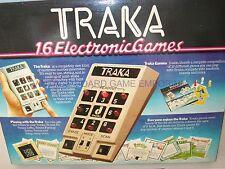 Traka GAME-Traka 16 Giochi elettronici-FUNZIONANTE-MOLTO RARO-elettronico
