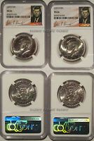 2020 P & D Kennedy Half Dollar 2 Coin Set 50c NGC MS 66