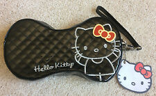 Loungefly Sanrio Hello Kitty Black & Red Quilted Vinyl Bag Clutch Purse NWT