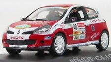 1:43 Norev Renault Clio R3 Rally De Charbonnieres Red White 517534 NEW