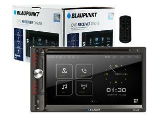 "Blaupunkt Ohio18 2-Din Car Stereo in-Dash 6.9"" Touchscreen AM/ FM DVD MirrorLink"
