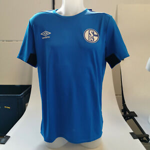 Umbro Schalke 04 FCTrikot Trainingsshirt Jersey Fußball Herren Gr. M