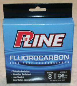 P-Line Fluorocarbon 8lb 250 Yard Fishing Line #SFC250-8