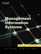 Management Information Systems Paperback Terry Lucey